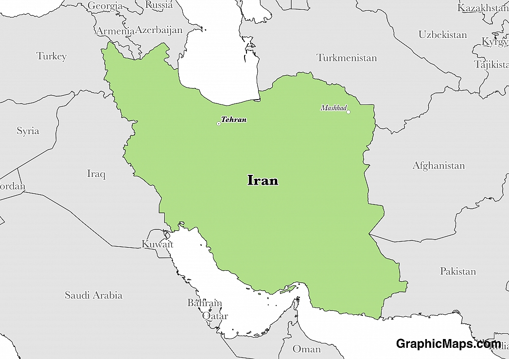 Iran GraphicMapscom