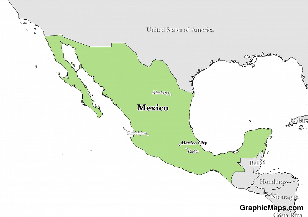 Mexicos Languages GraphicMapscom