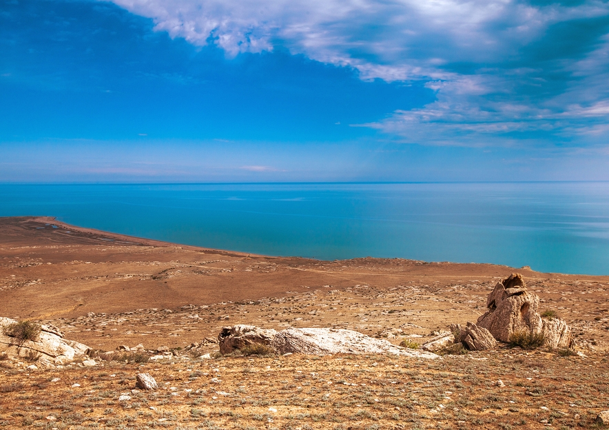 The largest lake on Earth is the Caspian Sea. However, as its name would suggest, the Caspian Sea is sometimes classified as a sea and not a lake. In these cases, Lake Superior would be the largest lake in the world.