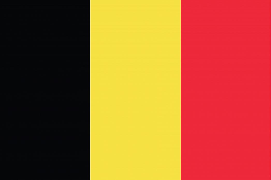 Belgium's Flag - GraphicMaps.com