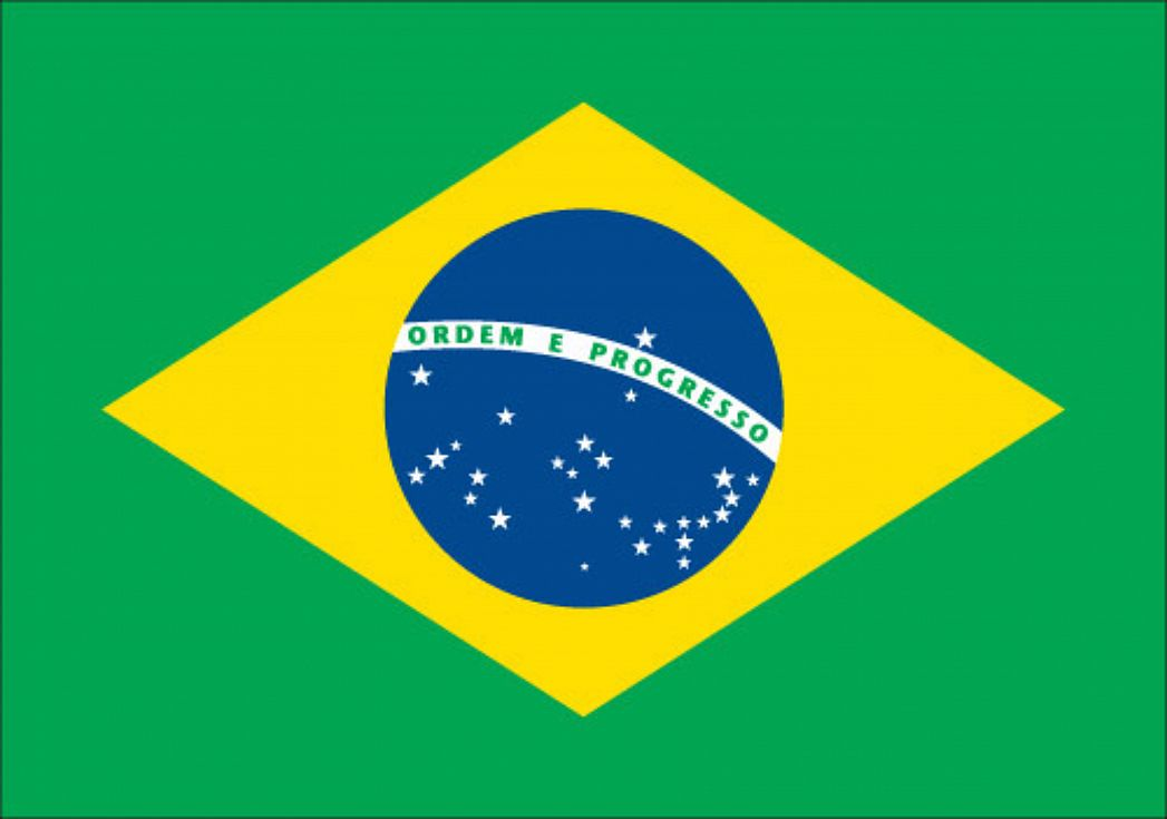 The Unknown Brazil Flag with the Red Star