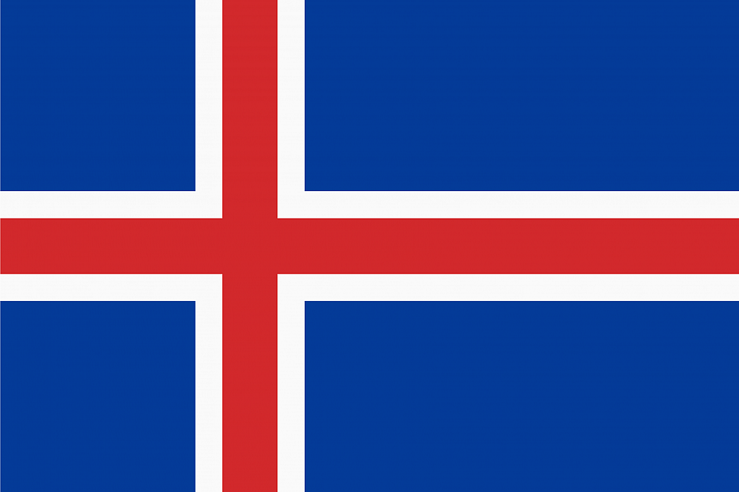 Icelands Flag Graphicmaps