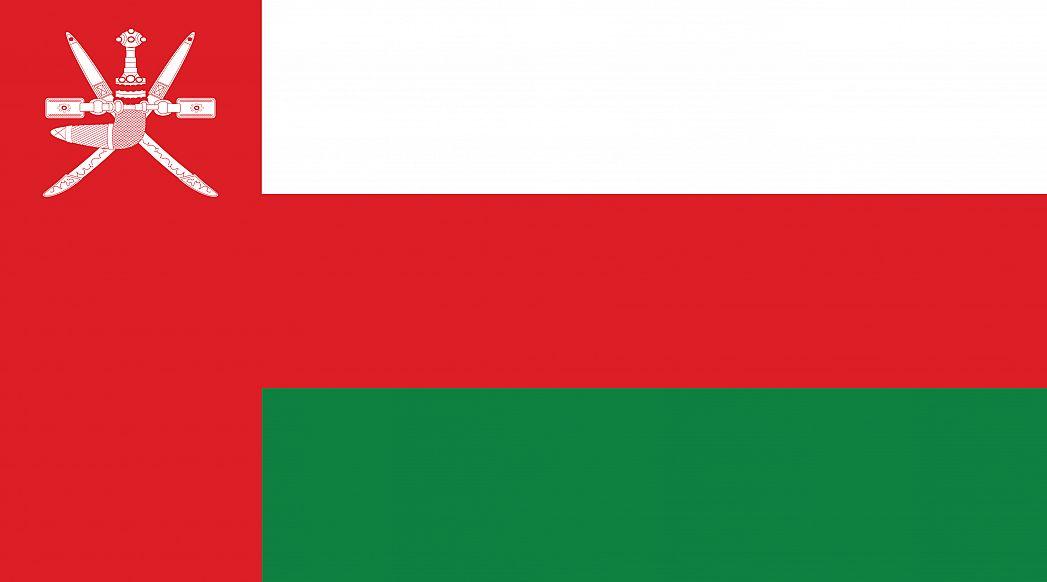 Oman S Flag Graphicmaps Com