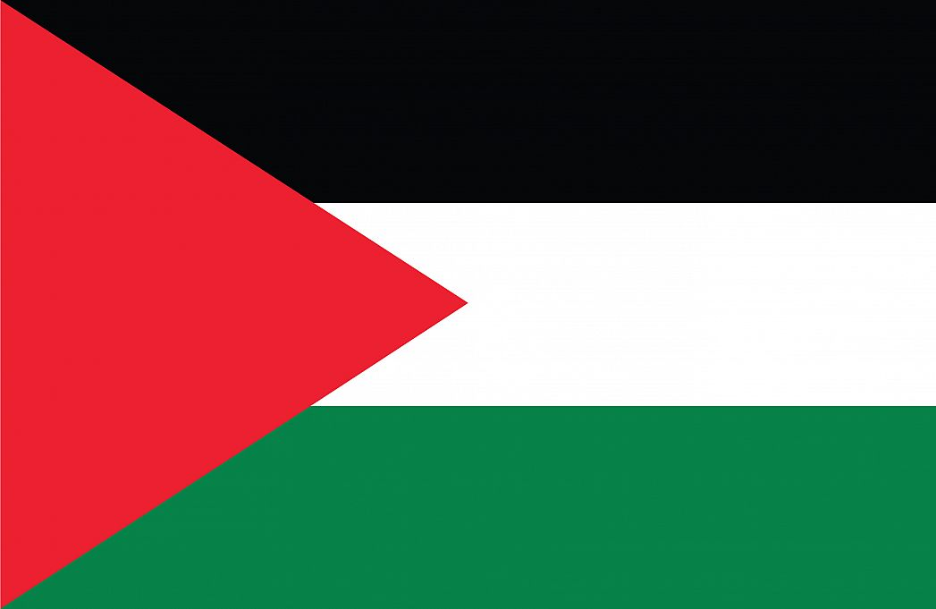 palestinian territory s flag graphicmaps com